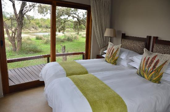 Simbavati River Lodge: Great views from this room