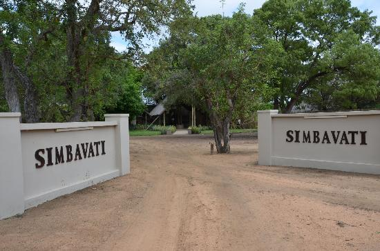 Simbavati River Lodge: Entrance