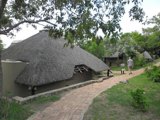 Bongani Mountain Lodge: Anlage