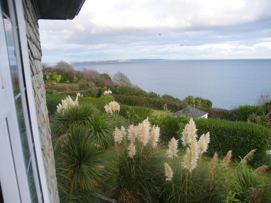 Trevalsa Court Country House Hotel: Hotel garden and summerhouse