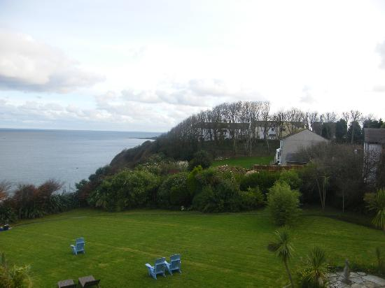 Trevalsa Court Country House Hotel: View towards Mevagissey