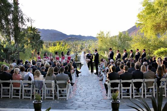 Sanctuary Camelback Mountain: Paradise Views - Wedding Ceremony