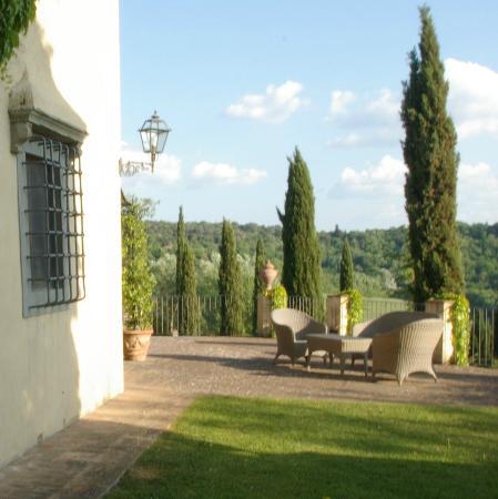 Santa Maria a Poneta: Tuscany panorama from the reinassance villa