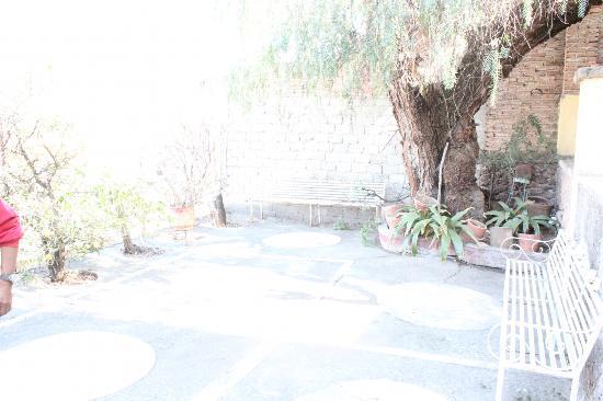 Hostal Galeria Cafe 1810: una terraza
