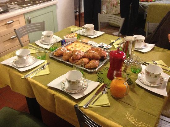 Il Rifugio Del Viandante Bed & Breakfast: Che colazioneeeeeeee ;))))