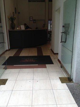 Tempo Rent Apart Hotel: recepcion del hotel