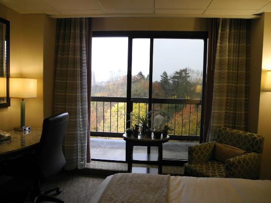 DoubleTree by Hilton Hotel Portland: View to balcony