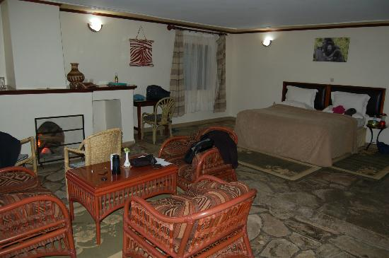 Mountain Gorilla View Lodge: room
