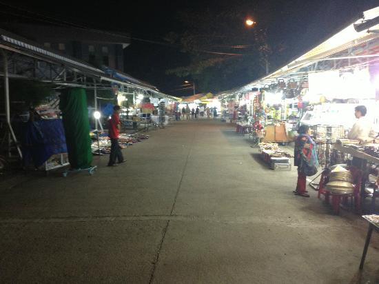 Saigon Phu Quoc Resort: Night Market - 10 minutes walk away
