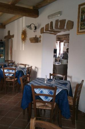 Ristorante Pizzeria Ichnos: sala