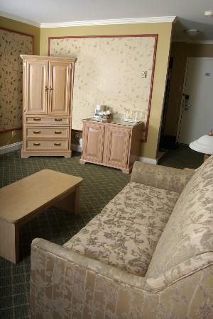 Z Plaza Hotel : Suite - chambre et salon séparés