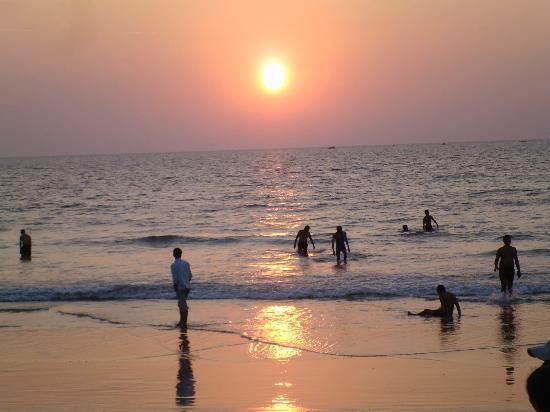 Sunset on Malpe Beach Udupi