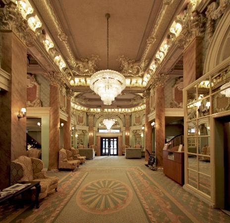 The Wolcott Hotel Lobby
