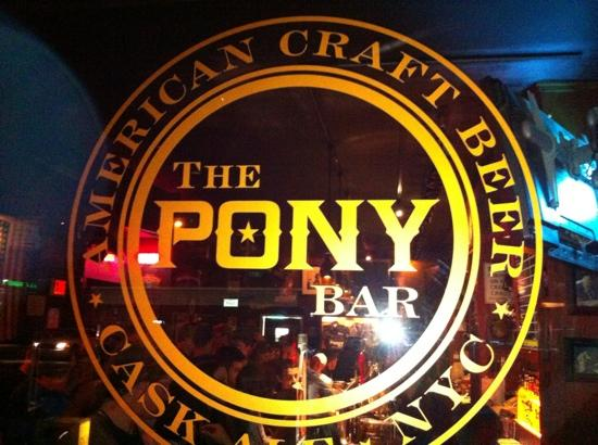 The Pony Bar : from outside
