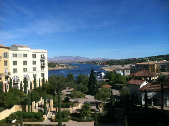 Hilton Lake Las Vegas Resort & Spa: View from my 6th floor balcony