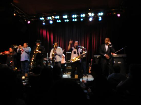 Dimitriou's Jazz Alley: Tower of Power on Stage at Jazz Alley