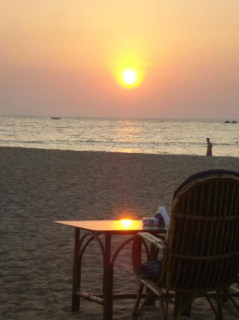 Hare Rama: Sunset view