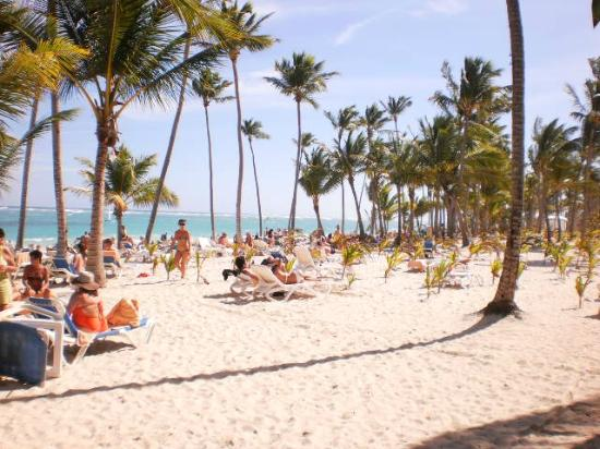 Hotel Riu Naiboa: amazing beach !!