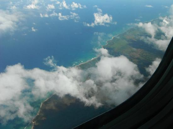 Hotel Riu Naiboa: view from the plane .. sorry it's not the hotel !!