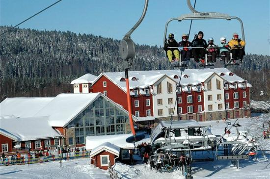 Hamburgare i Toppstugan - Picture of Romme Alpin, Borlange