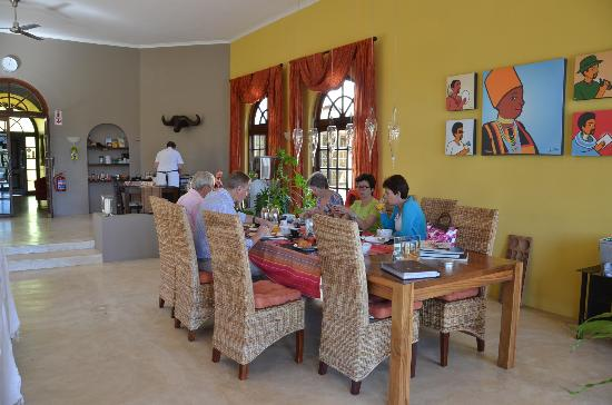 Allegria Guesthouse: Breakfast area