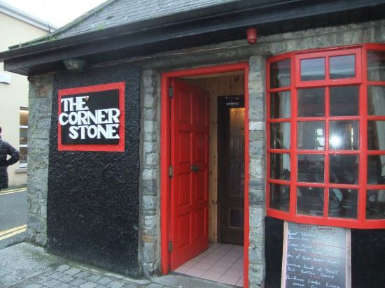 The Corner Stone : Main door