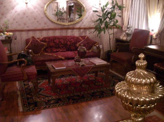 Dersaadet Hotel Istanbul: salottino reception