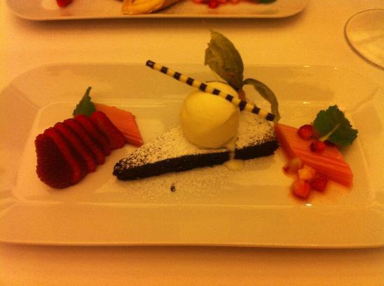 Allgäuer Terrassenhotel: Schokoladen Tarte