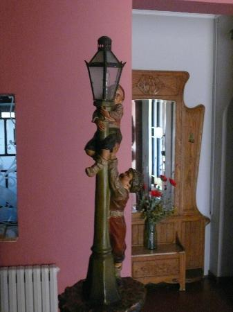 Hotel can Garay: Farol escalera