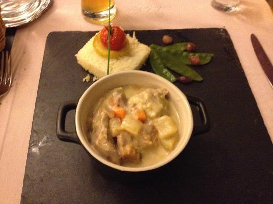 Brasserie 1802 : seconda portata