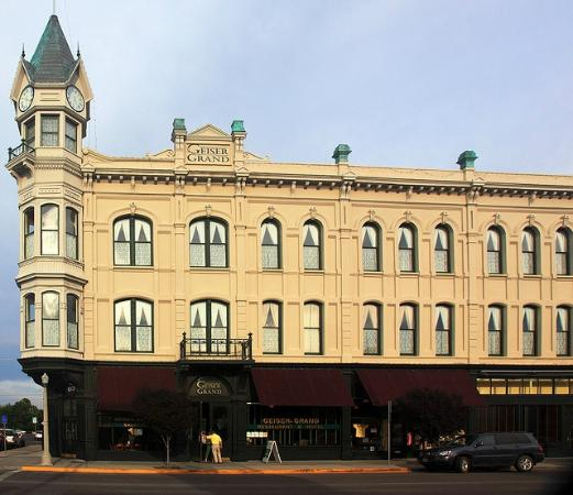 ‪جيسير جراند هوتل: Geiser Grand Hotel, Baker City, Oregon.‬