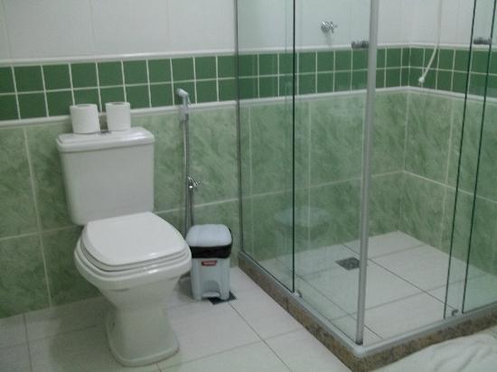 Pousada Caminho d'Ouro: Banheiro