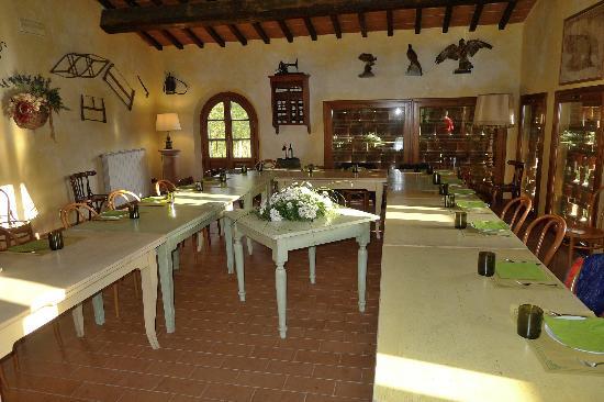Fattoria Rozzalupi: Sala da pranzo