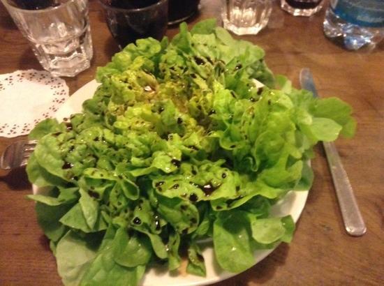 Il Fabbro: Insalata verde