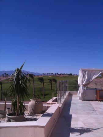 Steigenberger Makadi Hotel : blue skies mid November