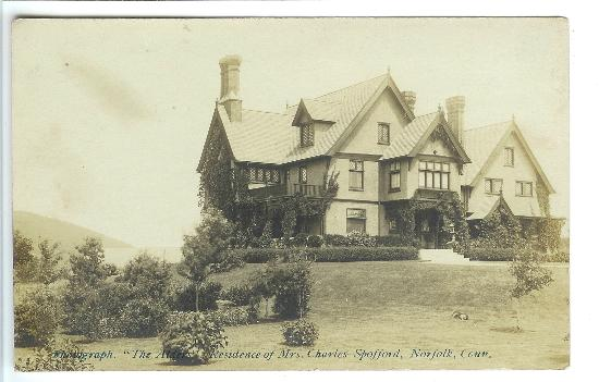 """Manor House Inn: The Manor House was originally called """"The Alders"""" when it was built in 1898"""