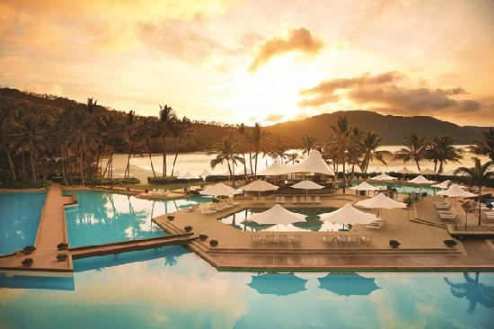 Hayman island resort in the Whitsunday Islands