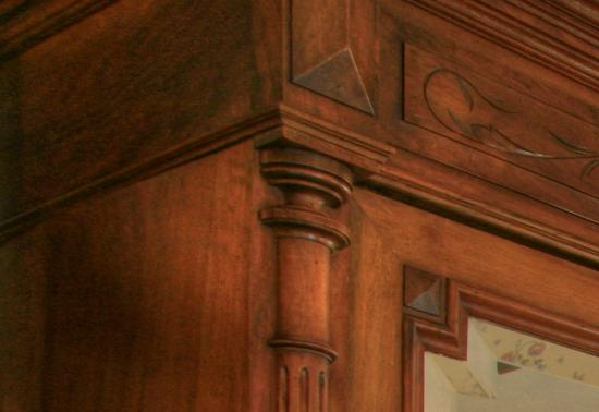 Manor House Inn: Beautiful Cherry Woodwork
