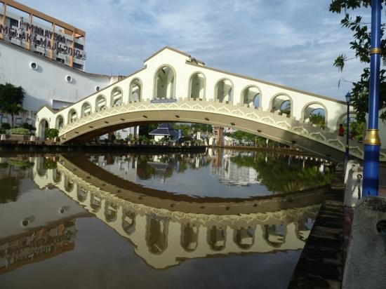 Courtyard @ Heeren Boutique Hotel: on the river in Melaka
