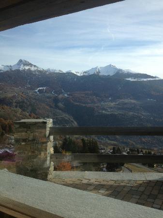 Hotel Caprice des Neiges: vista dal ristorante..