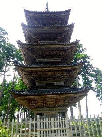 Myosenji Temple: 五重塔