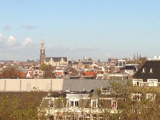 Marriott Amsterdam: view from 10th