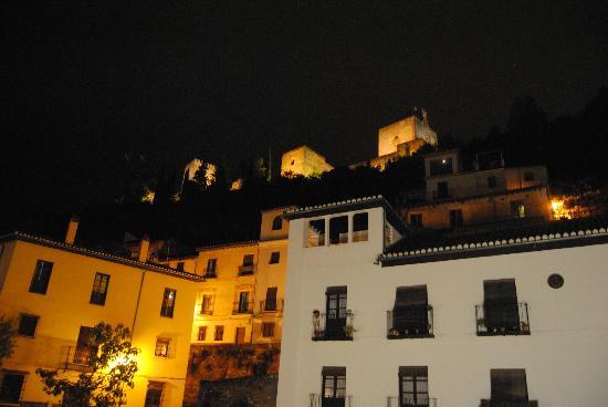 Hotel Zaguan del Darro: Vista desde la habitacion 102 Reina Isabel