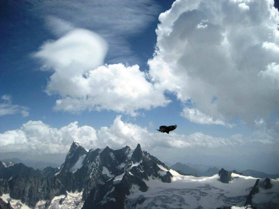 Chamonix Mont Blanc: Half way to Heaven