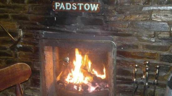the fire at the London inn