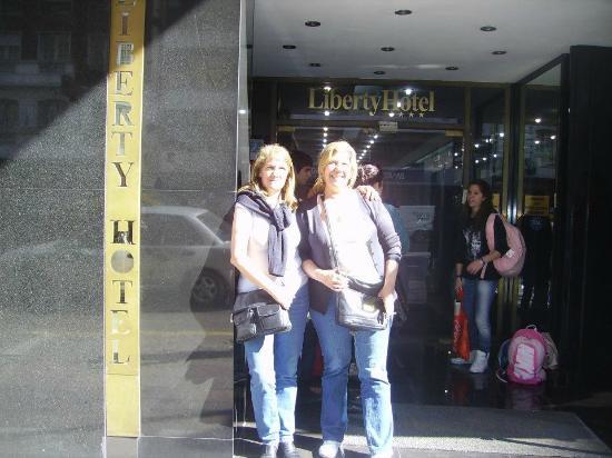 Liberty Hotel: Frente del hotel