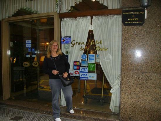 Gran Hotel de la Paix : Entrada del hotel