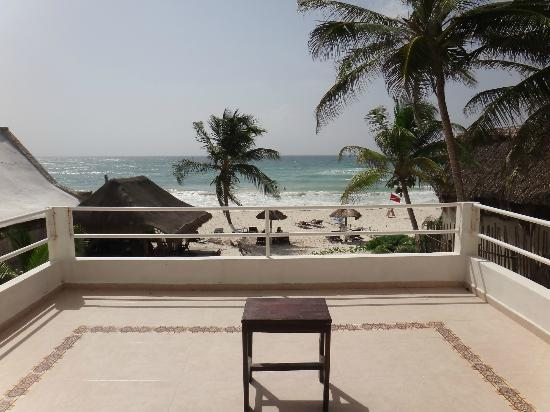 Amelie Tulum: View from our room
