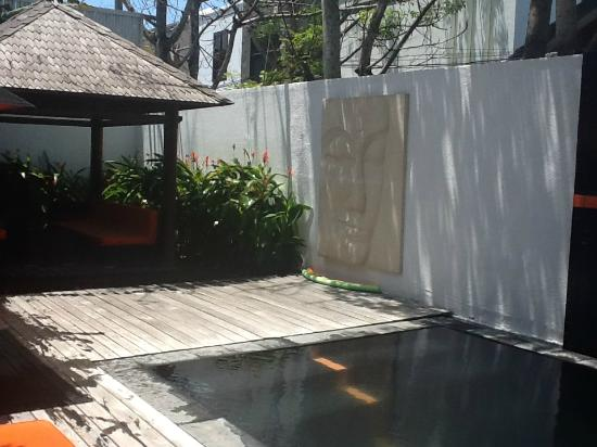 Bali Yarra Villas: Pool area