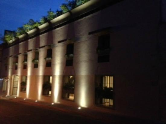 Flor de Mayo Hotel and Restaurant: La vista del Hotel
